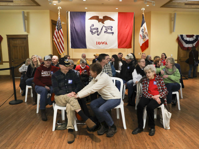 From Undecided To Staunch Supporters: Iowa Voters Eager To Kick Off Caucuses