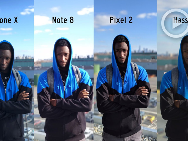 """What Is """"Portrait Mode"""" & How Does it Compare to a 'Proper' Camera?   Marques Brownlee Explains"""