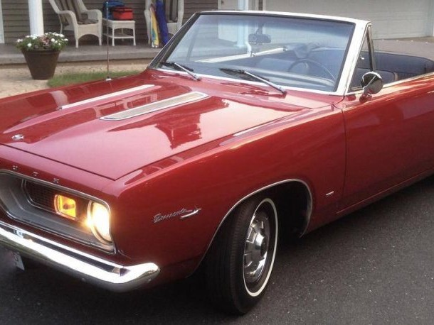 Hemmings Find of the Day – 1967 Plymouth Barracuda convertible