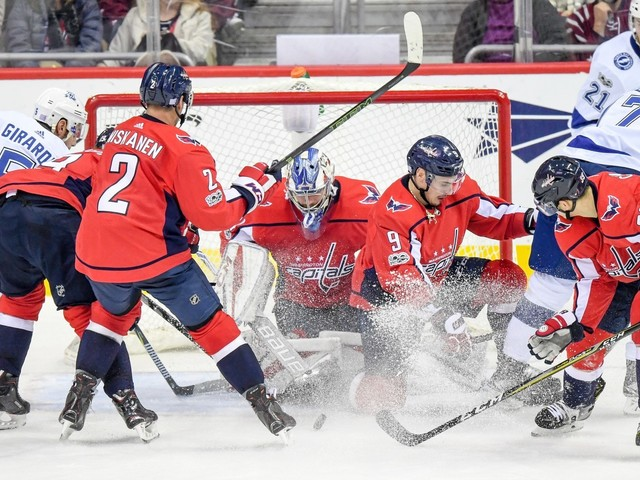 Capitals' Philipp Grubauer earns first win of season — against NHL's top team