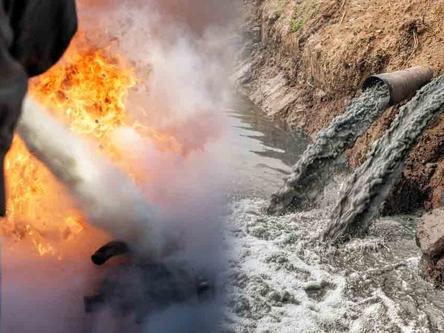 Firefighting Foam Chemicals Pollute Millions of Gallons of Water