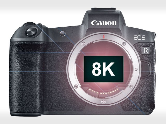 Canon: An 8K EOS R Camera is On the Way
