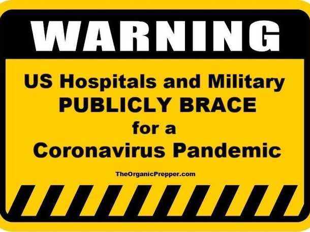 When US Hospitals And Military Publicly Brace For A Pandemic, You Should Pay Attention