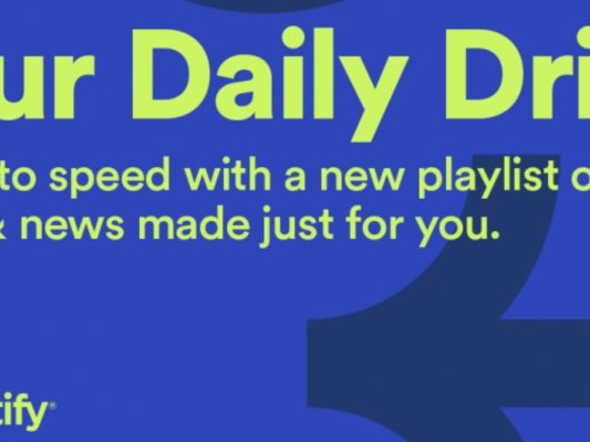"""Spotify Launches """"Your Daily Drive"""" for Commuters"""