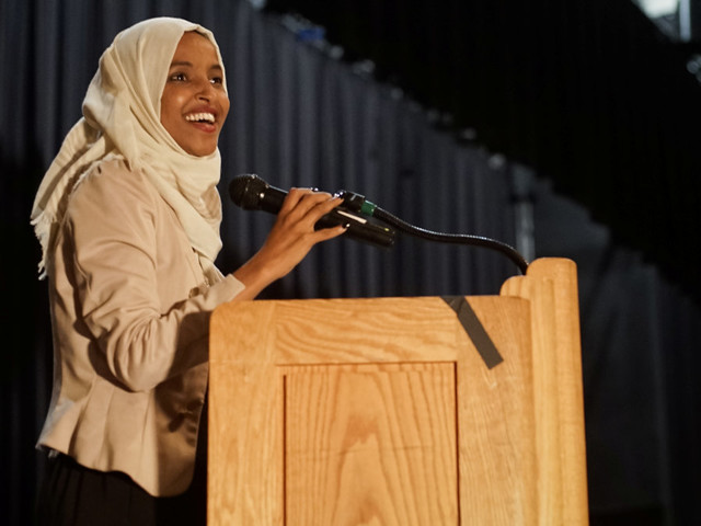 Rep. Ilhan Omar gets hero's welcome as supporters greet her after Trump attacks