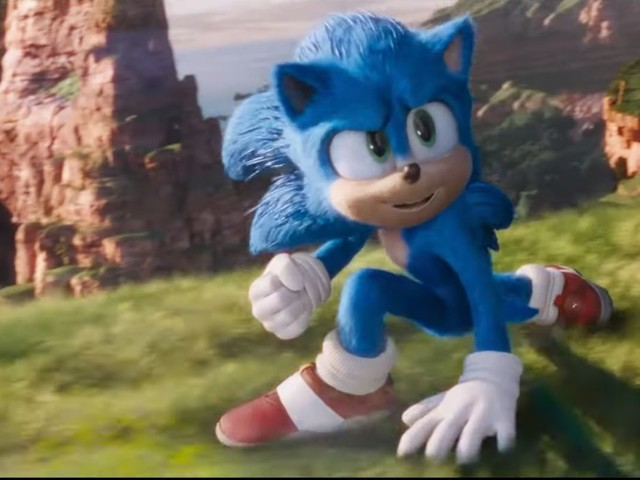 Let's try this again: Check out the new, far less creepy Sonic The Hedgehog