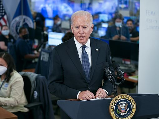 Biden snaps at Afghanistan question after trip to Dover Air Force base to pay tribute to dead troops