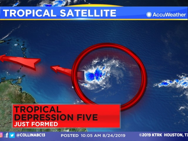 TROPICS: Tropical Storm Dorian forms in the Atlantic