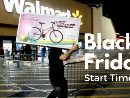 Black Friday Ad Start Times