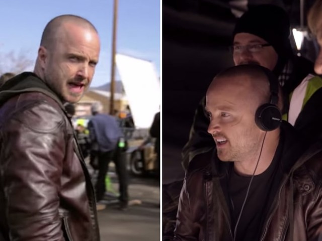 Aaron Paul and the El Camino Cast Give Fans a BTS Look at the New Breaking Bad Movie