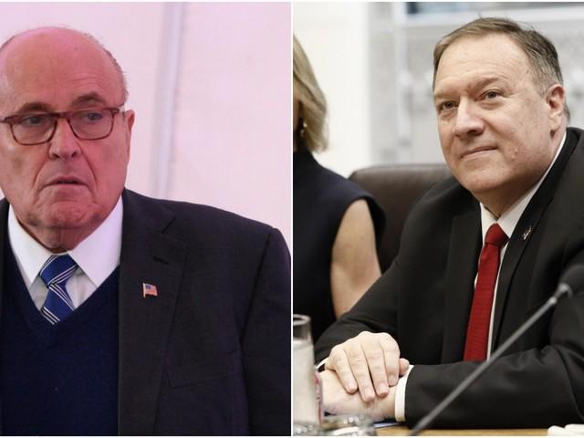 Giuliani said Mike Pompeo knew he pushed Ukraine to investigate Biden