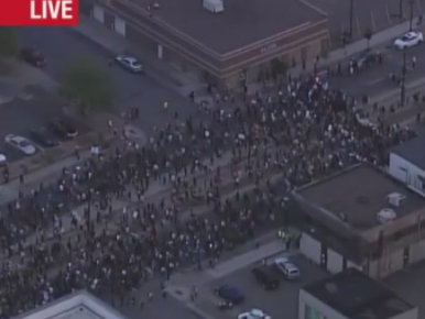 Protestors Take to the Streets After Philando Castile Shooting Verdict