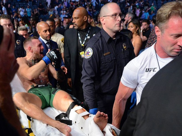 Dana White on McGregor's injury claims: Conor has arthritis, 'asked if he could tape his ankles'