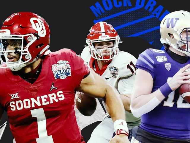 Check out our 3-round NFL mock draft right here