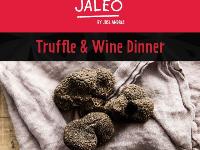Jaleo at Disney Springs to Host One-Night Only Truffle & Wine Dinner