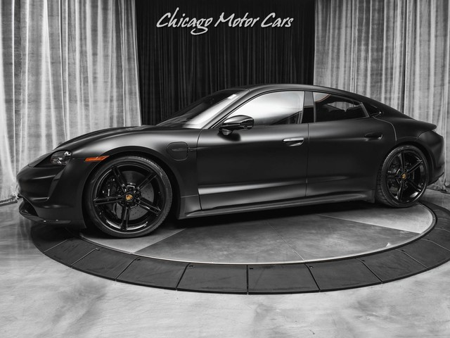 2021 Porsche Taycan--Turbo--S Turbo S Only 1k Miles! Premium Package! Full Stealth PPF! LOADED!