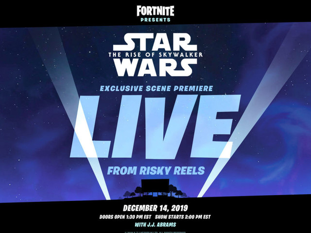'Fortnite' will premiere a 'Star Wars' scene with J.J. Abrams' help
