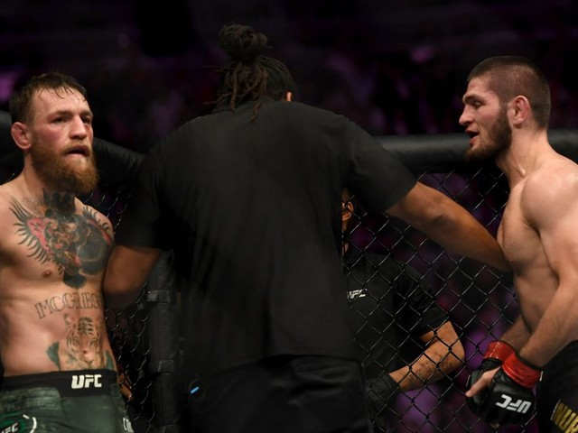 Khabib's simple but effective response to McGregor's KO record