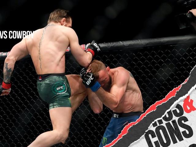 Pros and Cons: McGregor vs Cerrone immediate twitter analysis