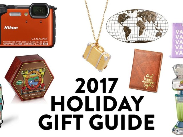 Holiday Gift Guide 2017: Our Favorite Travel-themed Gifts
