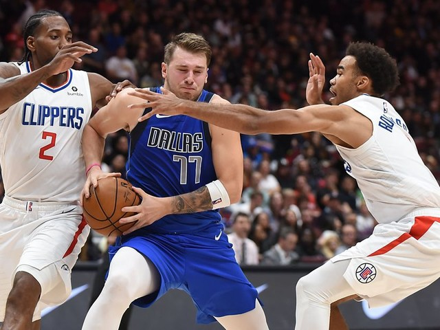The Clippers gave Luka Doncic's Mavericks the ultimate reality check