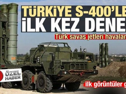 Turkey To Test Russian S-400 Missile Defense Systems Over Ankara
