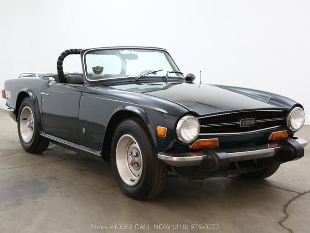 1974 Triumph TR6 w/overdrive