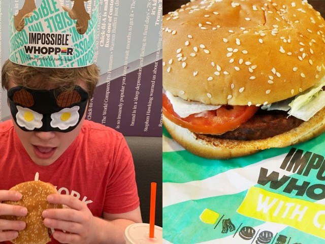 We did a blind taste test of Burger King's new meatless Impossible Whopper, and were surprised to find it could pass off as the real thing