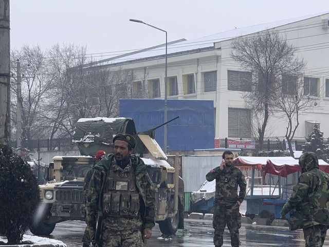 Suicide bombing near military academy in Kabul kills 3