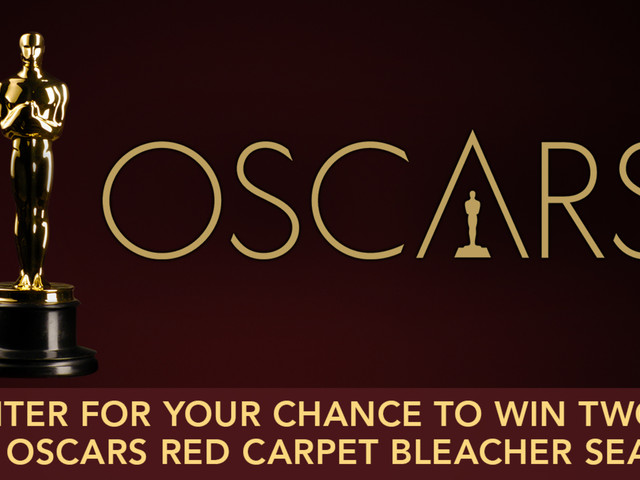 ABC7 has your chance to win Oscars Red Carpet Bleacher Seats!