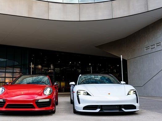 Porsche Taycan Outsells Iconic 911 Sports Car For First Time
