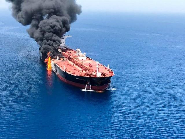 Did Iran attack oil tankers in the Gulf?