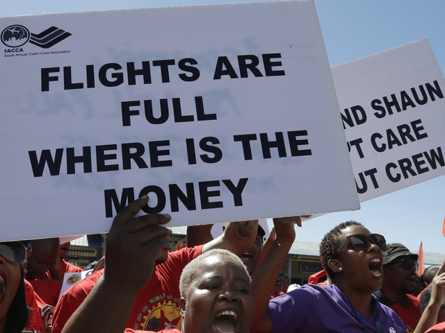 South Africa's airline says deal reached to end strike