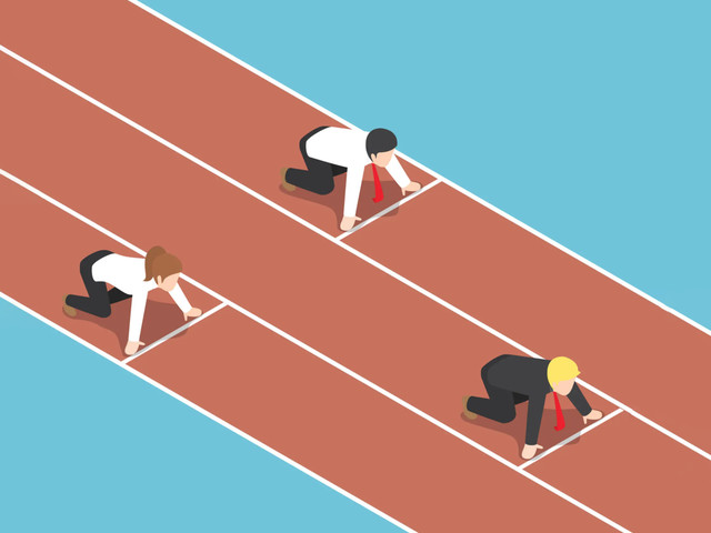 Does a merit based society divide us into winners and losers?