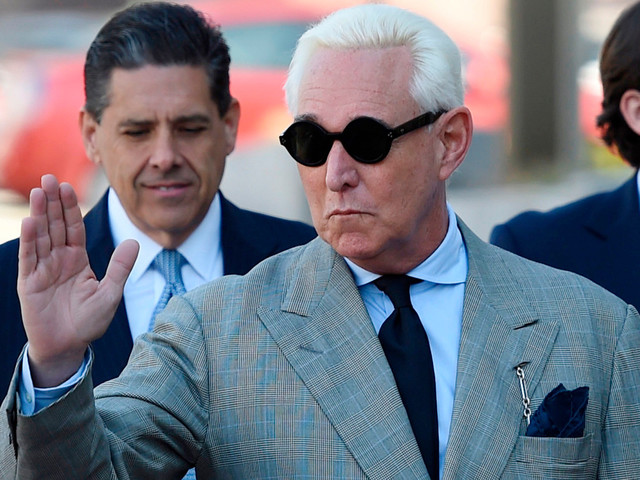 Roger Stone wants full copy of Mueller report for his criminal case