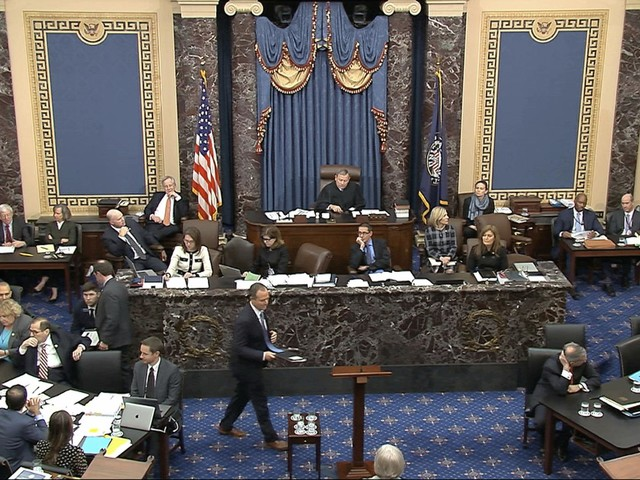 Watch Live At 1 P.M.: Democrats Conclude Opening Arguments In Impeachment Trial