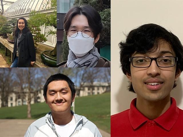 Four Tartans Among 2021 Goldwater Scholars