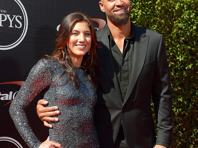 Former soccer star Hope Solo announces she's pregnant with twins