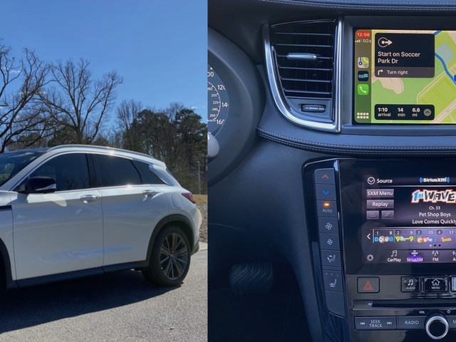 Review: Infiniti Joins the CarPlay Club With the 2020 QX50