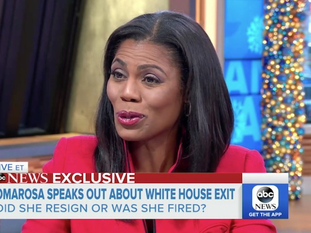 Omarosa: I Have Seen Things in the WH That 'Upset' Me, 'Affected My Community'; I Will Tell My Story