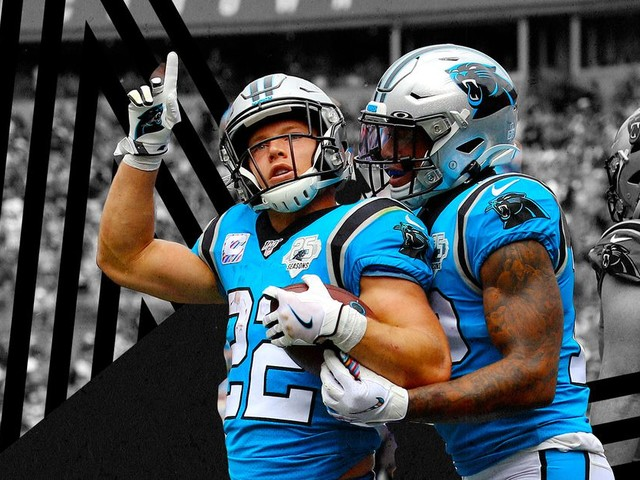 Christian McCaffrey has become the Panthers' new Superman