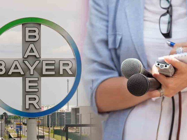 Bayer Hunts Down Journalists