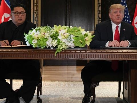 "Trump And Kim Sign ""Comprehensive"" Letter To End Historic Summit, Agree To ""Follow-On"" Negotiations"