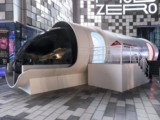 Virgin Hyperloop One's Full-Scale Pod is Designed by BMW