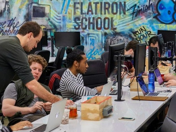 WeWork's coding boot camp Flatiron School has laid off dozens of employees