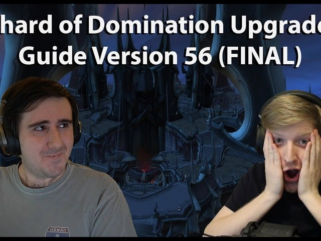 Dratnos and Tettles Discuss Shards of Domination Tuning and Upgrades