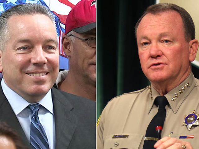 Alex Villanueva declares win in LA County sheriff race despite no concession from Jim McDonnell