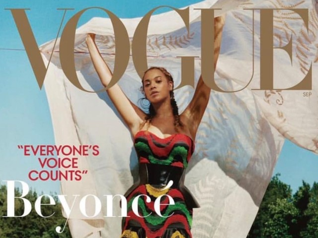 Vogue's Portrait of Beyoncé Is Going in the National Portrait Gallery