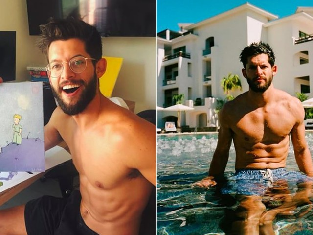 We're Getting a Little Bit of a Sugar Rush From Hunter March's Shirtless Pictures