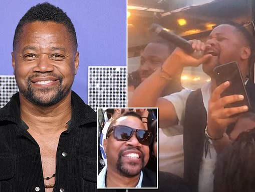 Surveillance footage shows Cuba Gooding Jr. did NOT grope woman in a New York nightclub